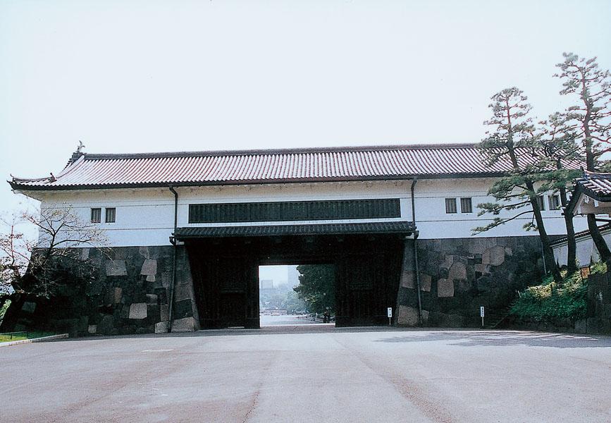 重要文化財(建造物) 旧江戸城外桜田門 「櫓門」