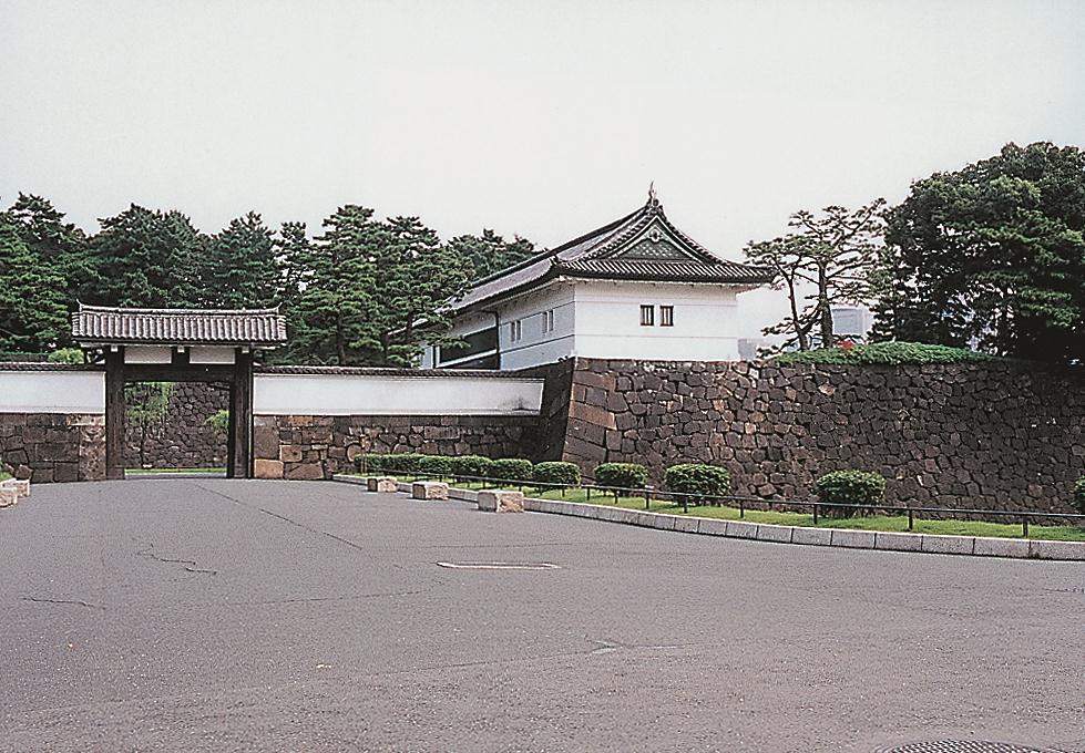 重要文化財(建造物) 旧江戸城外桜田門 「高麗門」