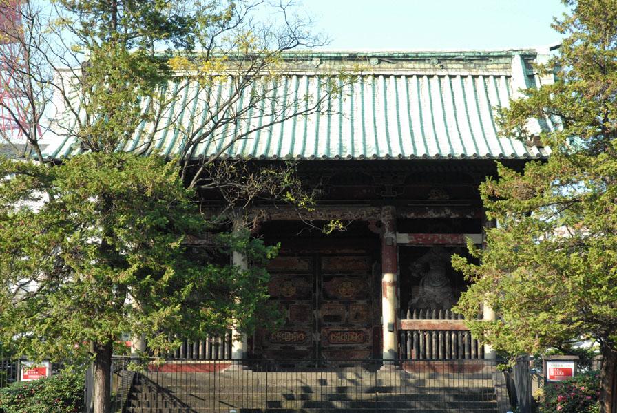 重要文化財(建造物) 有章院(徳川家継)霊廟二天門