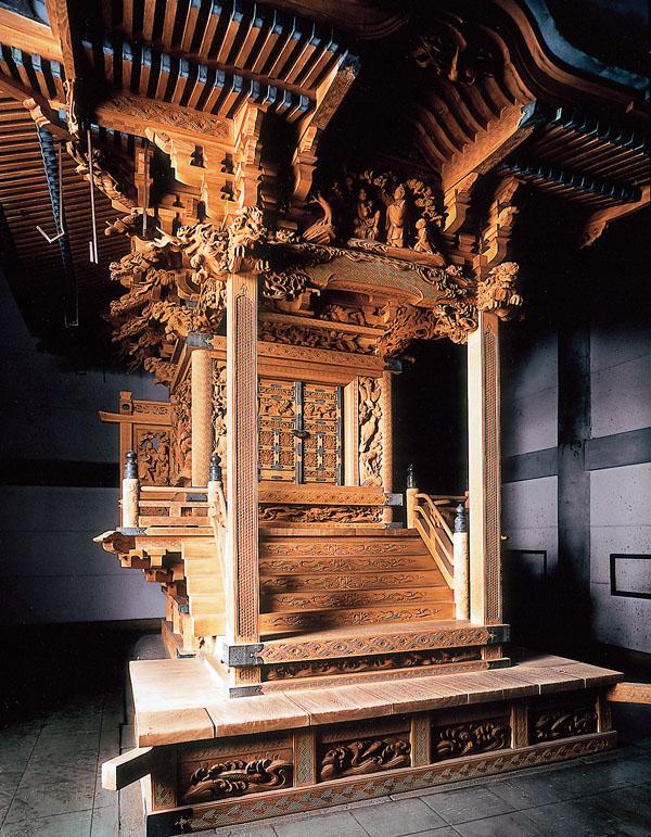 都指定有形文化財(建造物) 田無神社本殿・拝殿