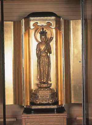 都指定有形文化財(彫刻) 木造十一面観世音菩薩立像