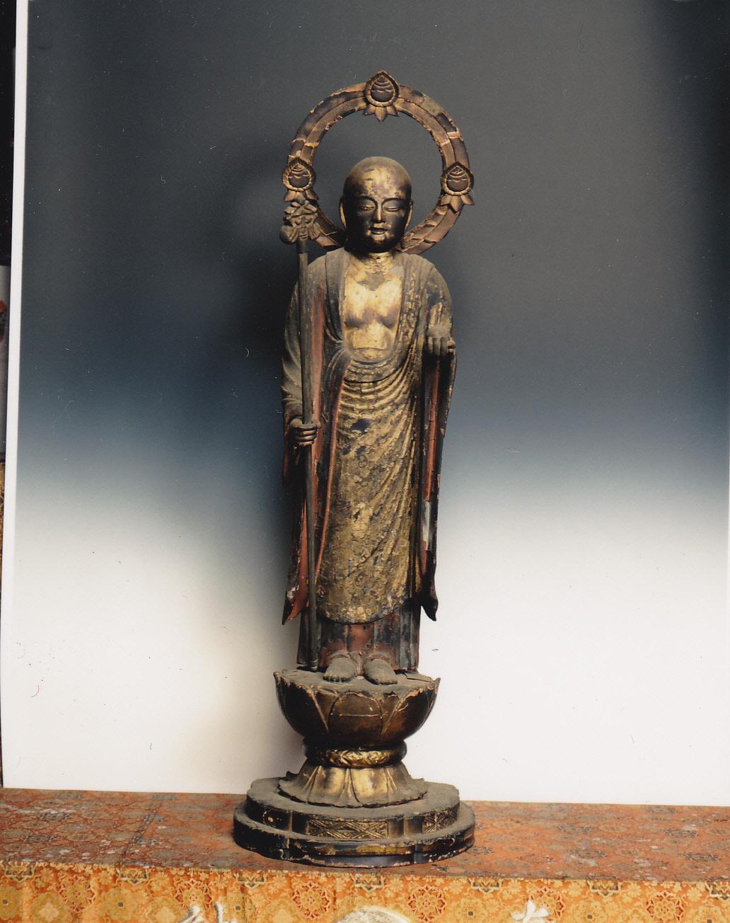 都指定有形文化財(彫刻) 木造地蔵菩薩立像