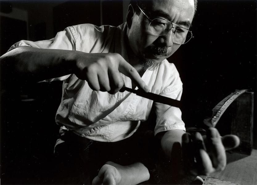 都指定無形文化財(工芸技術) 日本刀製作技術 「吉原義人氏」