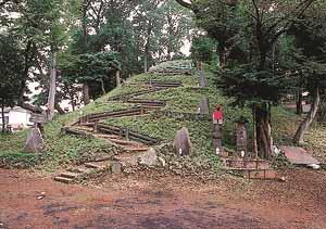 都指定有形民俗文化財 中里の富士塚